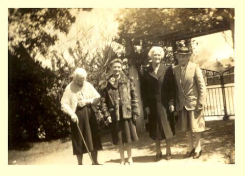 Photo of Caunter, Rhoda, Clarke, and Thompson